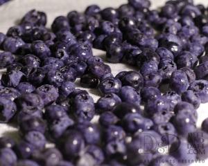 blueberries close